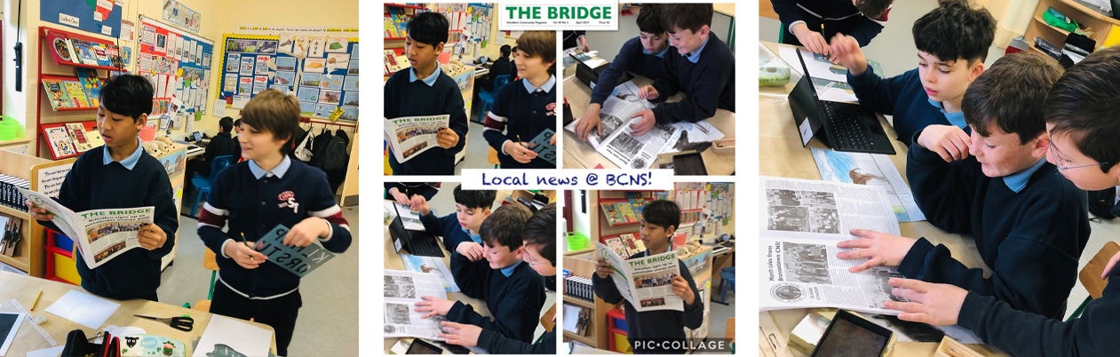 We are authors: Published in 'The Bridge'!